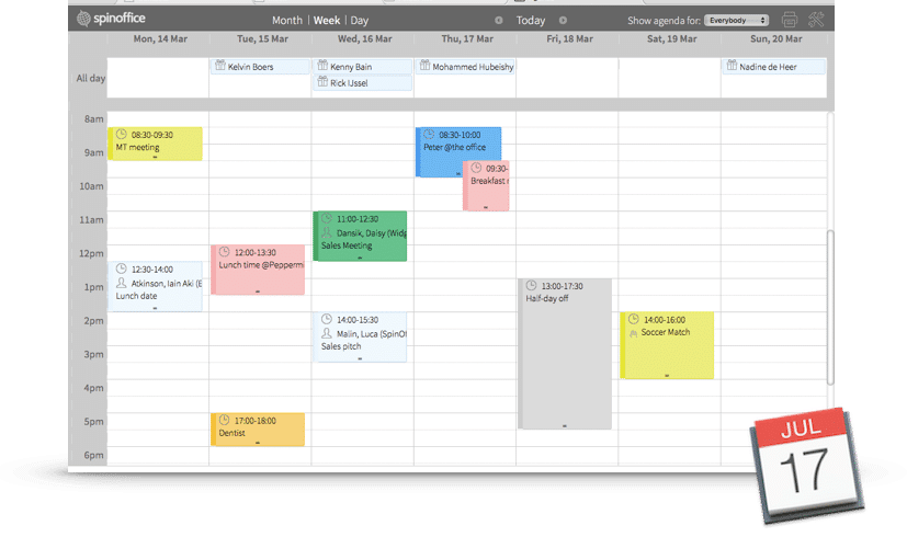 Now available: SpinOffice agenda sync!