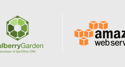 Mulberry Garden has chosen to use Amazon Web Services for SpinOffice CRM