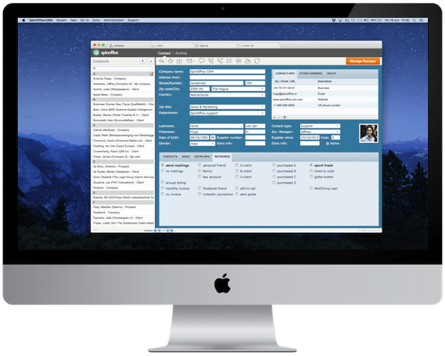 CRM for Mac