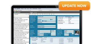 Automatische software update van SpinOffice CRM