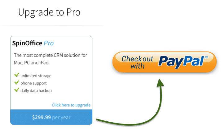 Payment via PayPal now possible for our Windows users