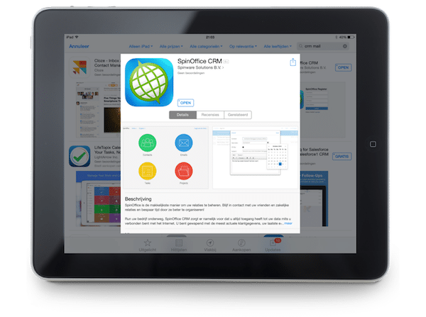 SpinOffice for iPad available in iPad App Store!