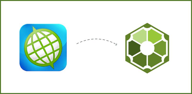 Het SpinOffice CRM-pictogram gaat veranderen