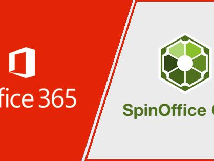 Nu beschikbaar in SpinOffice: Import van Office 365 Contactpersonen & Agenda