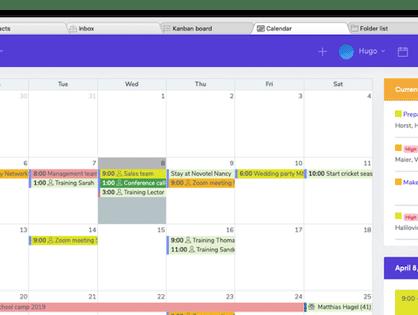 SpinOffice Update: Uw agenda is vernieuwd!