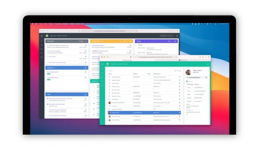 Web-based versie van SpinOffice CRM nu beschikbaar!